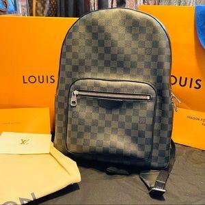 Authentic Louis Vuitton Damier Graphite Josh